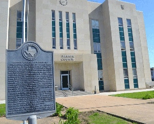 Fannin County Courthouse Historic Marker