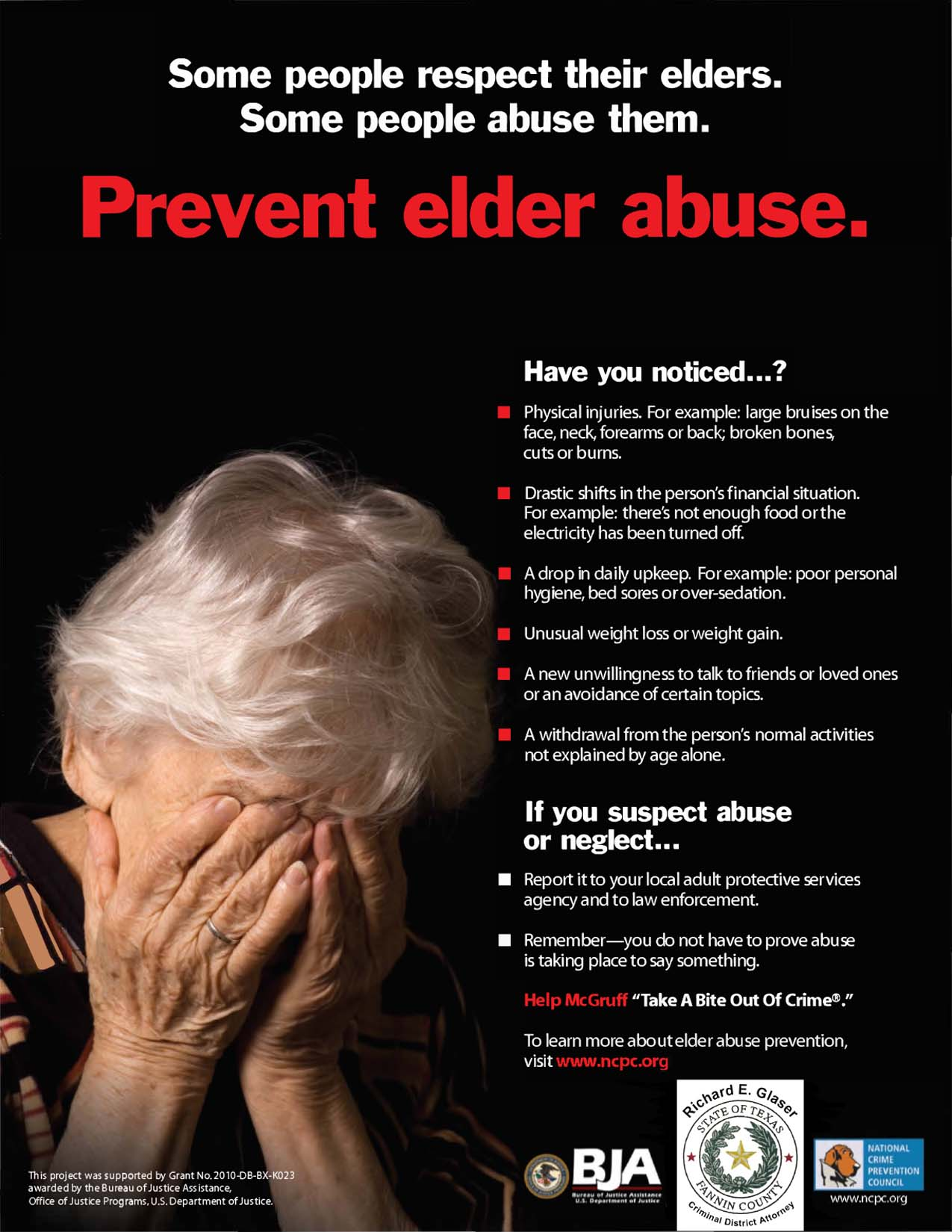 Prevent Elder Abuse