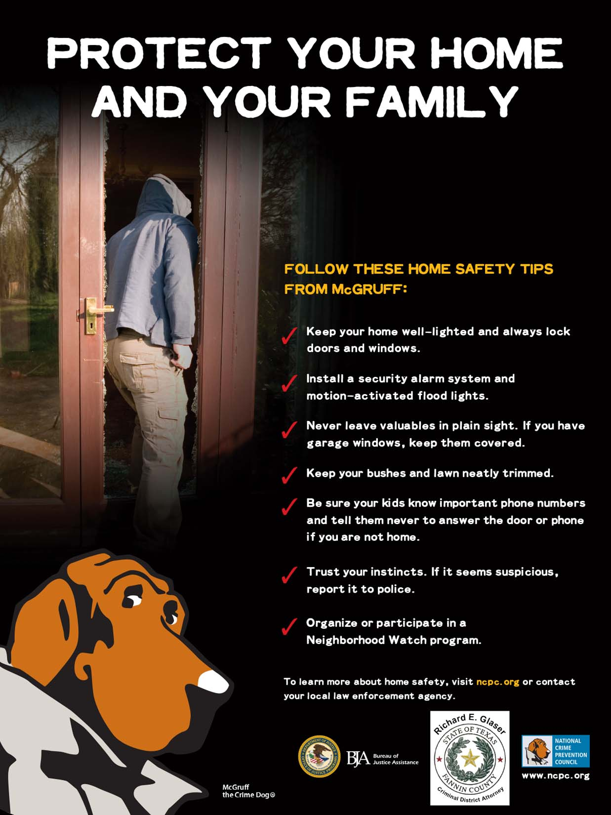 Protect Your Home and Your Family (Home Safety) / Proteja a Su Familia y su Hogar