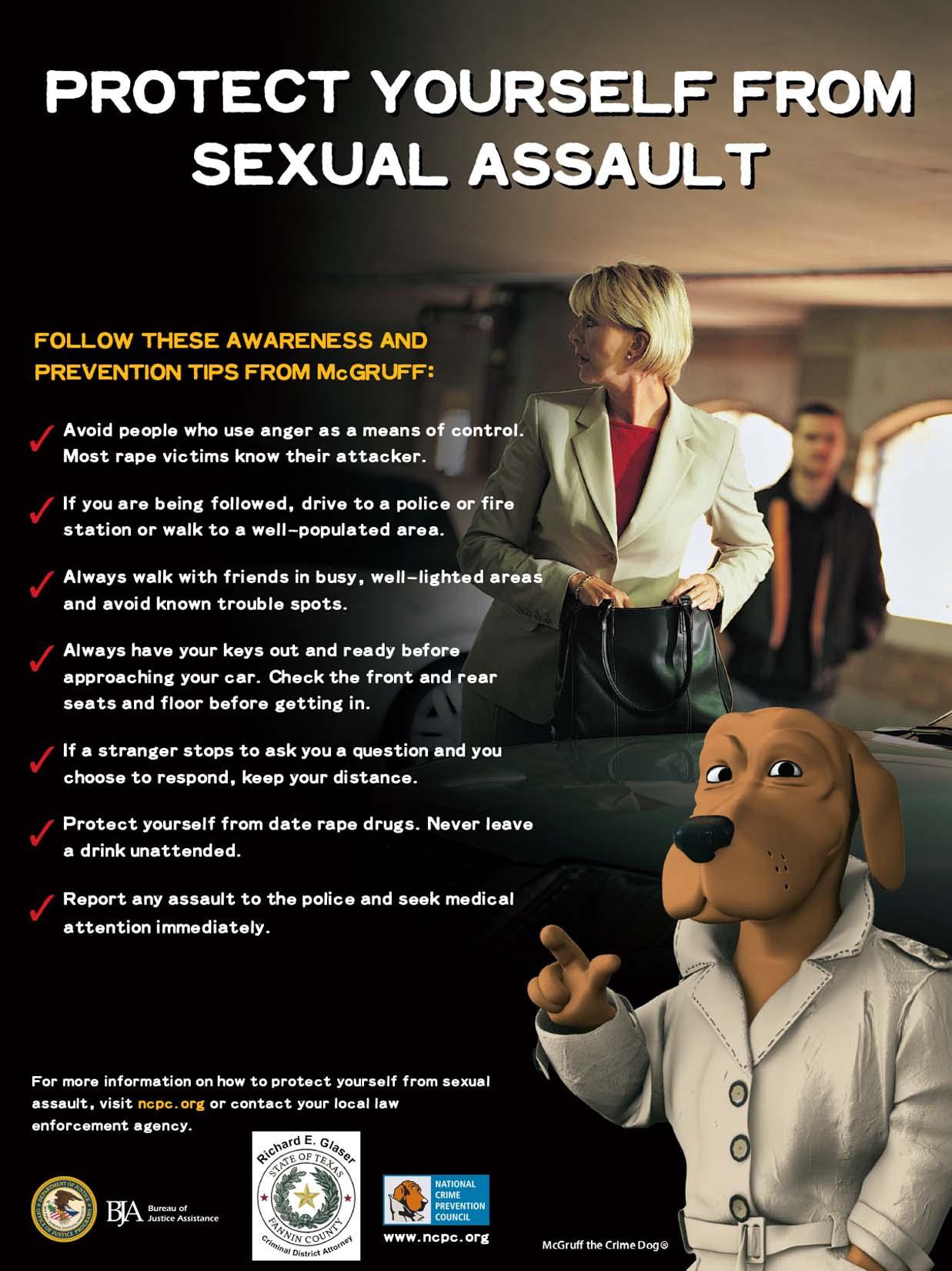 PROTECT YOURSELF FROM SEXUAL ASSAULT / PROTOTÉJASE DE LA AGRESIÓN SEXUAL